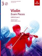 Picture of ABRSM Violin Grade 3 2020-23 Score/Part/CD