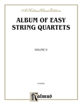Picture of Album of Easy String Quartets Volume II