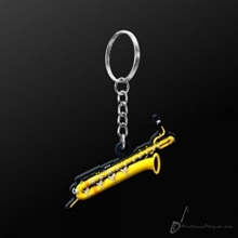 Picture of Key Chain Baritone Saxophone