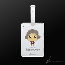 Picture of Luggage Tag Ludwig Van Beethoven