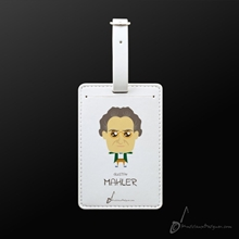 Picture of Luggage Tag Gustav Mahler
