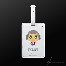 Picture of Luggage Tag Wolfgang Amadeus Mozart
