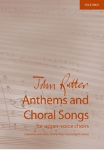 Picture of Anthems and Choral Songs for Upper-Voice Choirs