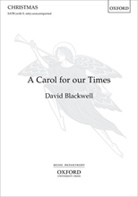 Picture of A Carol for our Times SATB