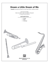 Picture of Dream a Little Dream of Me SoundPax Parts