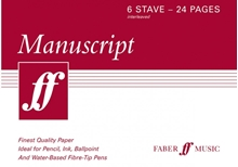 Picture of Manuscript A5 6-stave 24 pages