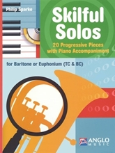 Picture of Skilful Solos Euphonium Book/CD