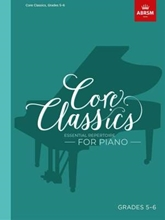 Picture of ABRSM Core Classics Piano Book 5 Grades 5-6