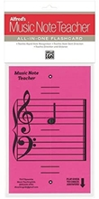 Picture of Alfred's Music Note Teacher: All-In-One Flashcard Pink