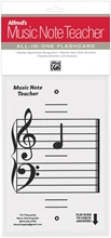 Picture of Alfred's Music Note Teacher: All-In-One Flashcard White