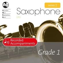 Picture of AMEB Alto Saxophone Series 2 Grade 1 Piano Accompaniment CD