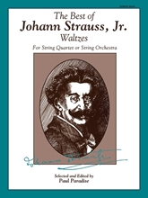 Picture of Best of Johann Strauss for String Quartet - Bass