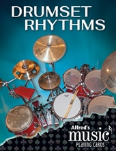 Picture of Alfred's Music Playing Cards: Drumset Rhythms