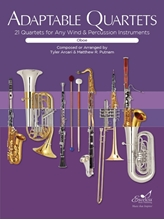 Picture of Adaptable Quartets for Winds - Oboe