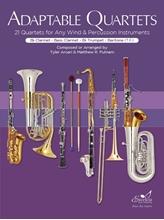 Picture of Adaptable Quartets for Winds- Clarinet/Trumpet/Bari TC