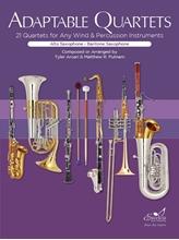 Picture of Adaptable Quartets for Winds - Alto/Baritone Sax