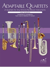 Picture of Adaptable Quartets for Winds - Tenor Sax