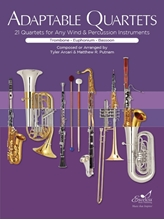 Picture of Adaptable Quartets for Winds - Trombone/Euphonium/Bassoon