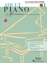 Picture of Adult Piano Adventures All-in-One Lesson 1 Book/CD