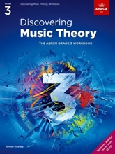 Picture of ABRSM Discovering Music Theory Grade 3 Workbook