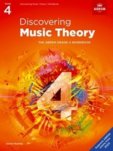 Picture of ABRSM Discovering Music Theory Grade 4 Workbook