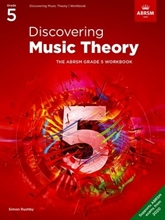Picture of ABRSM Discovering Music Theory Grade 5 Workbook