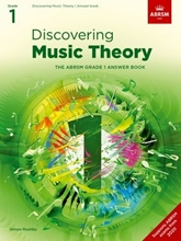 Picture of ABRSM Discovering Music Theory Grade 1 Answers