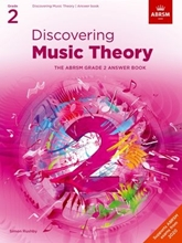 Picture of ABRSM Discovering Music Theory Grade 2 Answers