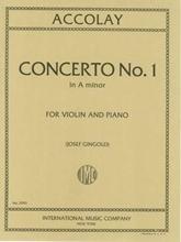 Picture of Accolay Violin Concerto No 1 A Minor Violin/Piano