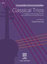 Picture of Compatible String Ensembles Classical Trios Bass