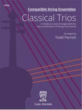 Picture of Compatible String Ensembles Classical Trios Viola
