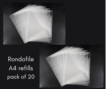 Picture of Rondofile A4 Refills for Binder Pro - Pack of 20