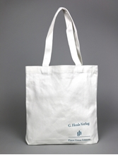 Picture of Henle White Canvas Tote Bag