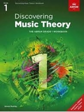 Picture of ABRSM Discovering Music Theory Grade 1 Workbook