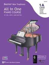 Picture of Bastien All In One Piano Course Level 1A