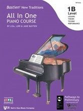 Picture of Bastien All In One Piano Course Level 1B
