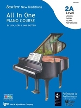 Picture of Bastien All In One Piano Course Level 2A