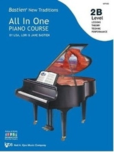 Picture of Bastien All In One Piano Course Level 2B