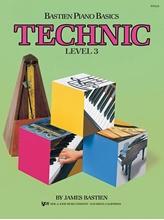Picture of Piano Basics Technic Level 3