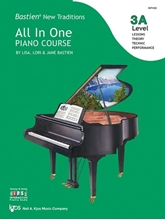 Picture of Bastien All In One Piano Course Level 3A