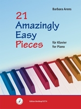 Picture of 21 Amazingly Easy Pieces for Piano